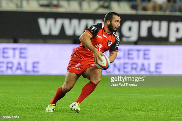 Jean Marc DOUSSAIN of Toulouse during rugby Top 14 match between Grenoble and Stade Toulousain at Stade des Alpes on June 5 2016 in Grenoble France