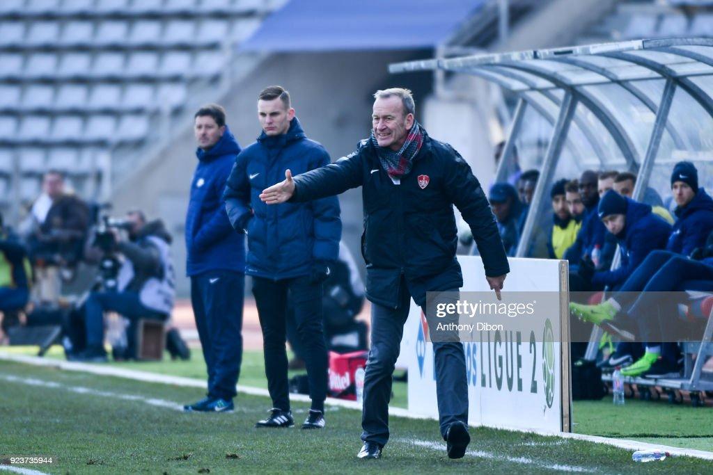 Paris Fc v Stade Brestois - Ligue 2
