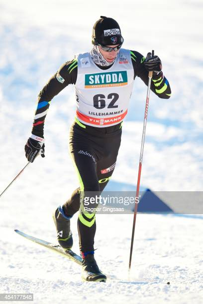 Jean Marc Gaillard of France competes during the FIS CrossCountry World Cup Men's 15km Classic on December 7 2013 in Lillehammer Norway