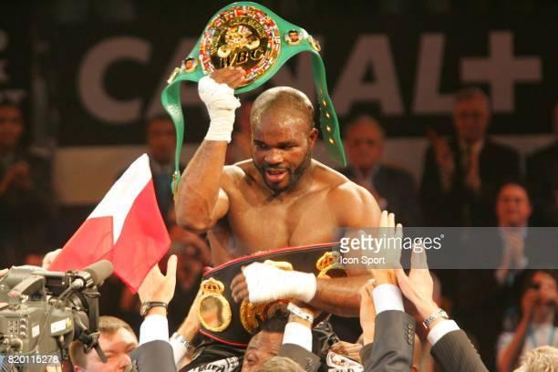 Jean Marc MORMECK Championnat du Monde WBA WBC des lourds legers Levallois Perret
