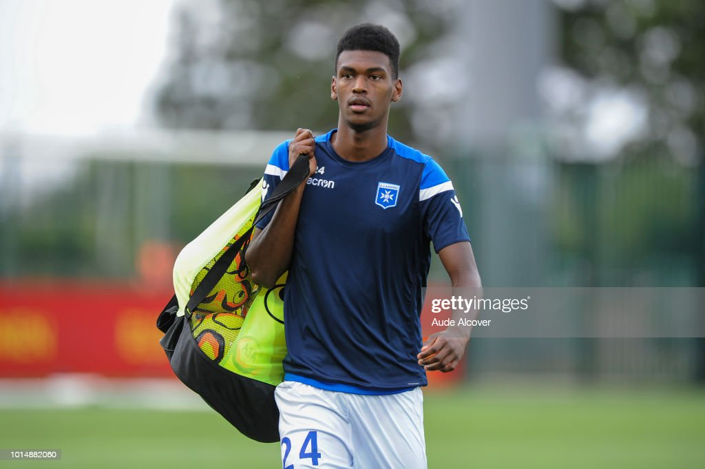 Jean Marcelin of Auxerre during the French Ligue 2 match between Orleans and Auxerre on August 10, 2018 in Orleans, France.