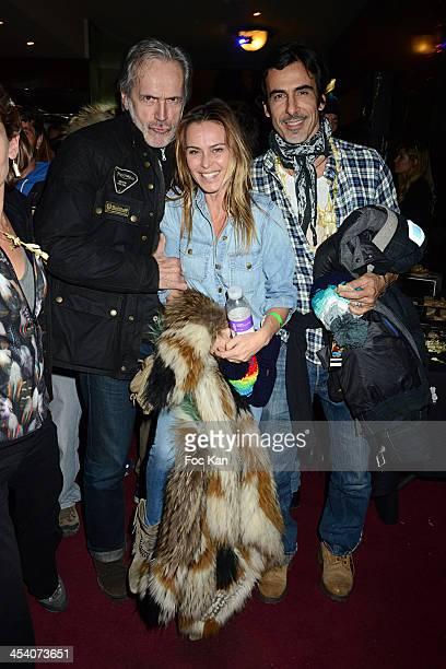 Jean Marie Marion Agathe de La Fontaine and Laurent Hubert attend the 'Nuit de La Glisse 2013' At Le Grand Rex on December 6 2013 in Paris France
