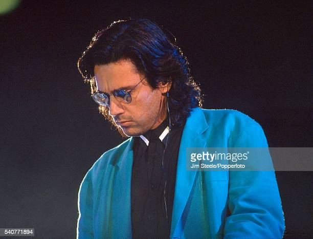 Jean Michael Jarre performing on stage circa 1990