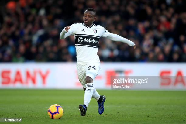 Jean Michael Seri of Fulham during the Premier League match between Crystal Palace and Fulham FC at Selhurst Park on February 02 2019 in London...