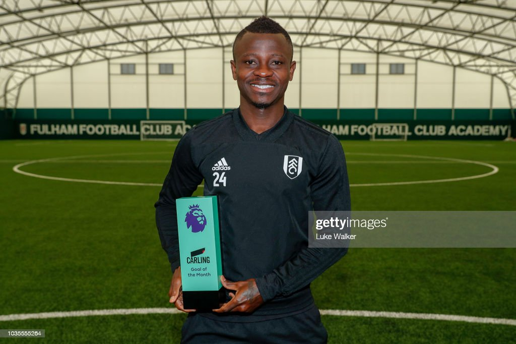 Jean Michael Seri Wins the Carling Goal of the Month Award - August 2018