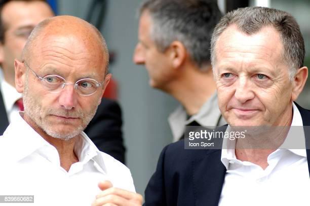 Jean Michel AULAS Lyon / Lille Match amical