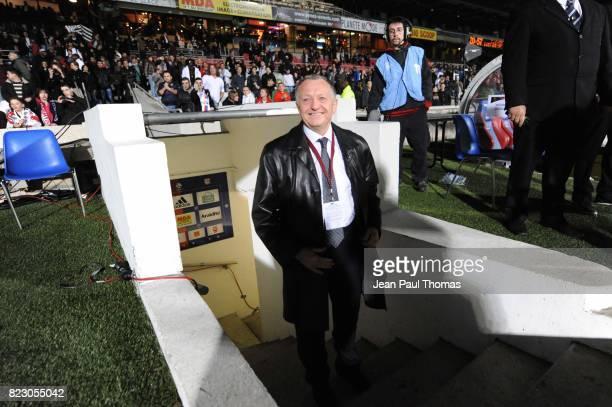 Jean Michel AULAS Lyon / Zvezda 2005 Perm 1/4 Finale Retour de la Ligue des Champions 2010/2011 Lyon
