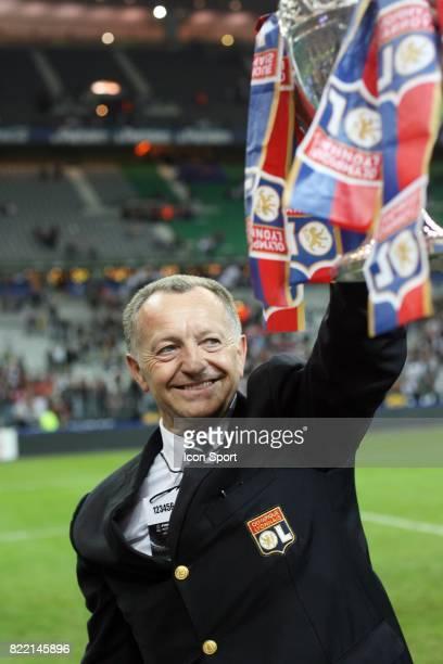 Jean Michel AULAS Lyon / PSG Finale de la Coupe de France