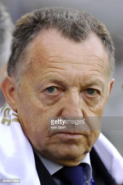 Jean Michel AULAS Lyon / Le Mans 34 eme journee de Ligue 1