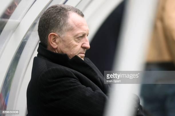 Jean Michel AULAS Entrainement de l'Olympique Lyonnais avant la finale de la coupe de la ligue