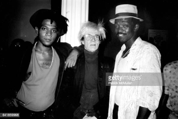Jean Michel Basquiat, Andy Warhol, Fred Braithwaite .