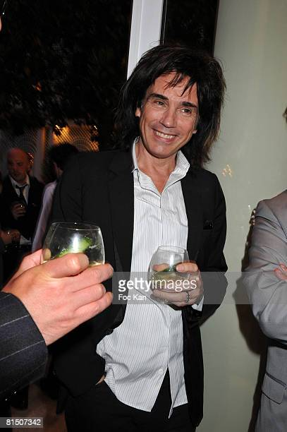 Jean Michel Jarre attends the Playboy and Fooding Diner Hosted by the Bureau du Cognac at the Hotel Bristol on May 28 2008 in Paris France