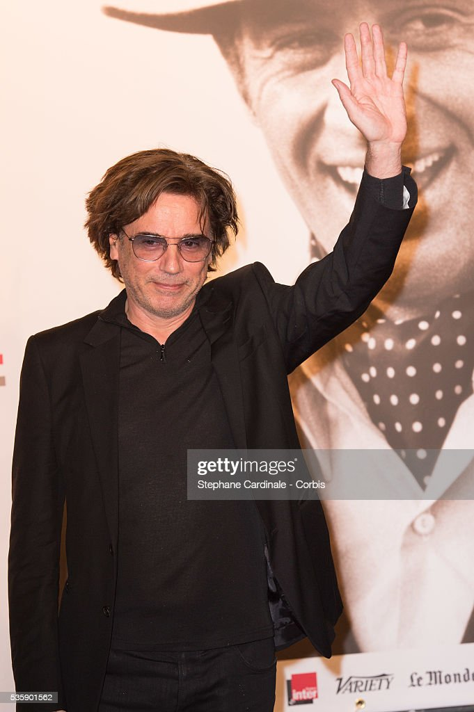 Jean Michel Jarre attends the Tribute to Jean Paul Belmondo and Opening Ceremony of the Fifth Lumiere Film Festival, in Lyon.