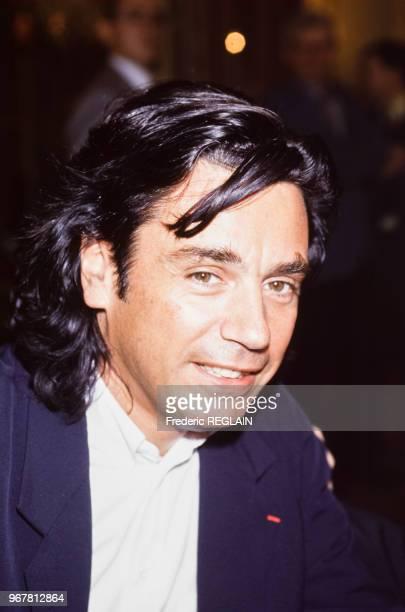 Jean Michel Jarre musicien le 22 juin 1994 à Paris France