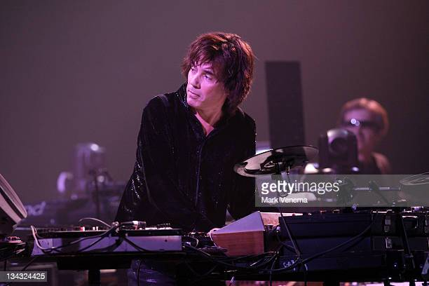 Jean Michel Jarre performs at Ahoy on November 27 2010 in Rotterdam Netherlands
