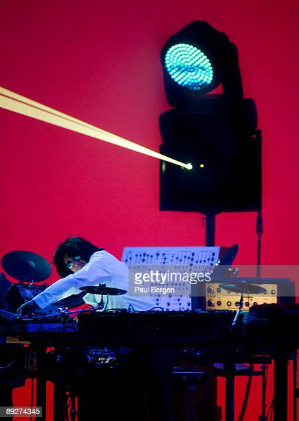 Jean Michel Jarre performs on stage at the Heineken Music Hall on May 26th 2009 in Amsterdam Netherlands