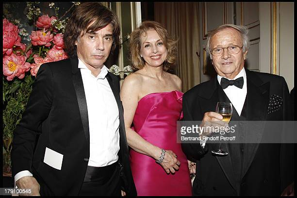Jean Michel Jarre Prince Jean Poniatowski at The Gala Dinner At The Italian Embassy In Paris In Aid Of The Restuaration Of The Royal Palace In Venice