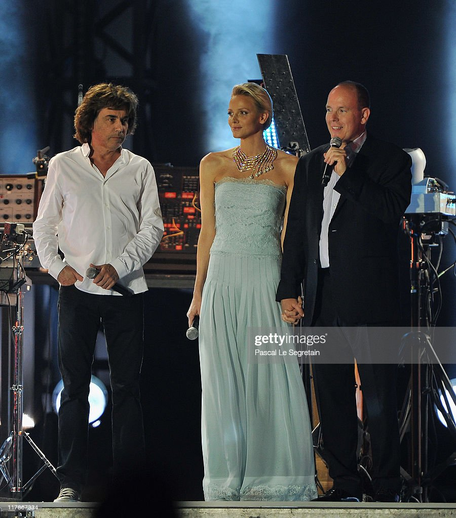 Monaco Royal Wedding - Jean Michel Jarre Live In Concert : News Photo