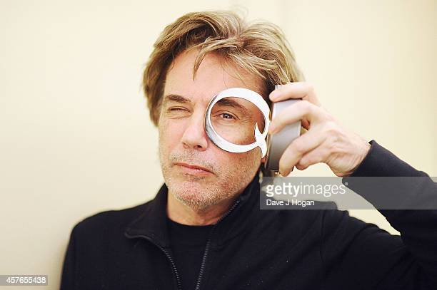 Jean Michel Jarre winner of the Q Innovation In Sound award at the Xperia Access Q Awards at The Grosvenor House Hotel on October 22 2014 in London...