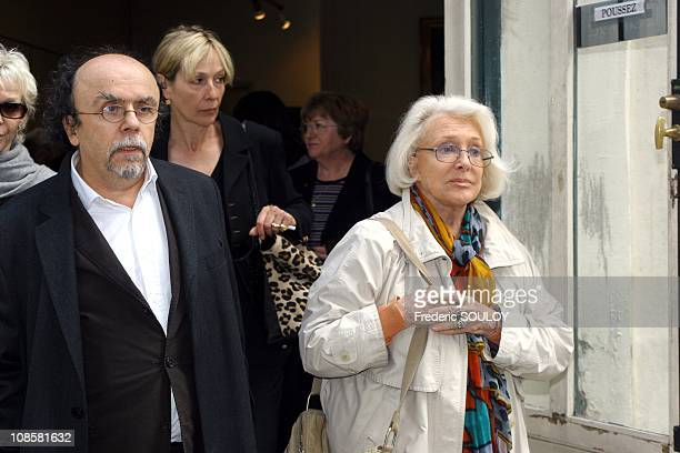Jean Michel Ribes and Micheline Presle in ParisFrance on May 302006