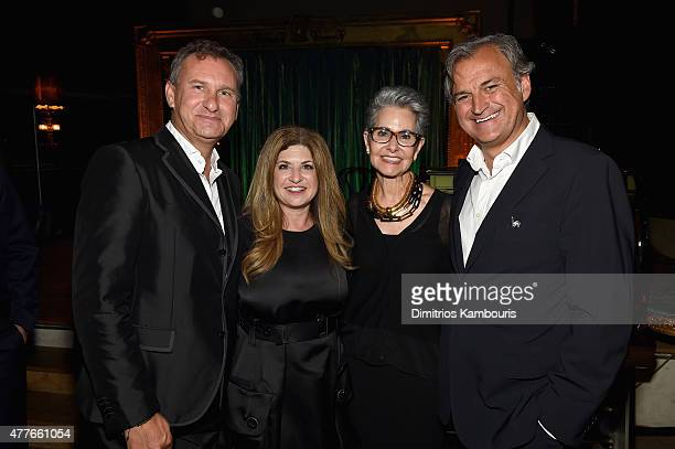 Jean Mortier Lori Singer Ann Gottlieb and Marc Rey attend Marc Jacobs And Coty Celebrate DECADENCE on June 18 2015 in New York City