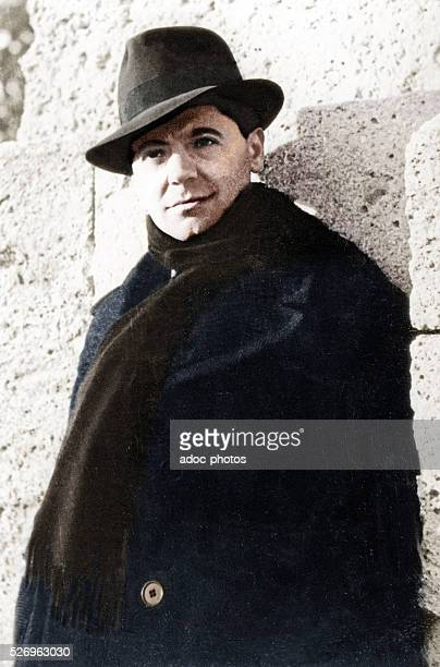 Jean Moulin member of the French Resistance during World War II In 1939 Coloured photograph
