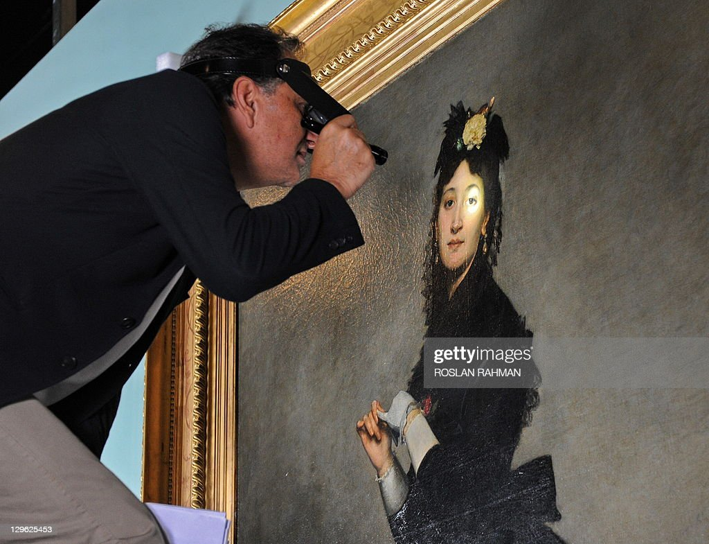 Jean Naudin, project manager from Musee Pictures   Getty Images