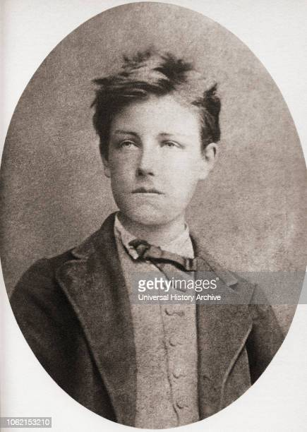 Jean Nicolas Arthur Rimbaud 1854 1891 French poet After a contemporary print