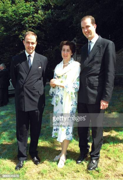 Jean of France, Marie-Liesse de Rohan-Chabot with husband Eudes of France.