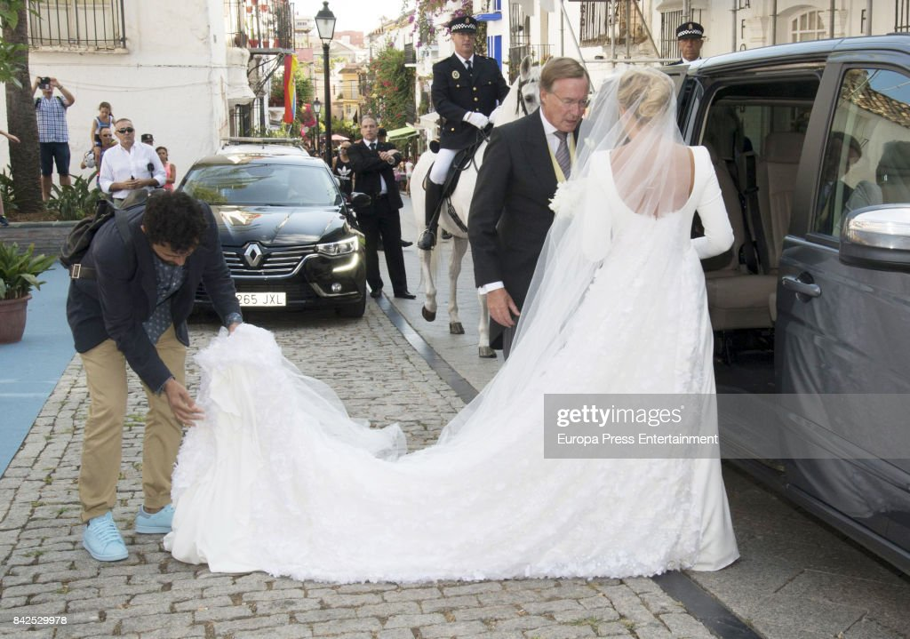 Marie-Gabrielle of Nassau and Antonius Willms Wedding : News Photo