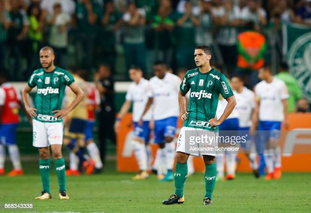 Jean of Palmeiras reacts during the match between Palmeiras and Cruzeiro  for the Brasileirao Series A 8c585437f6f14