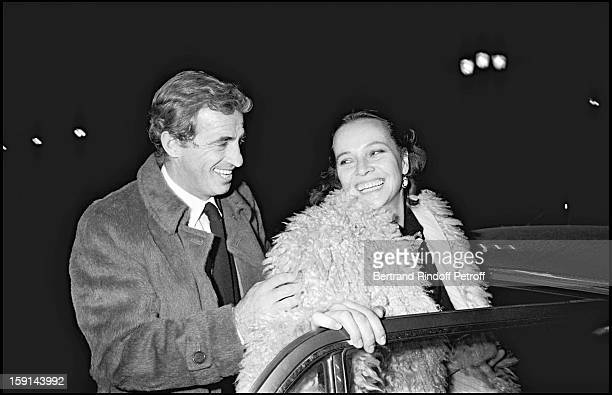 Jean Paul Belmondo and Laura Antonelli