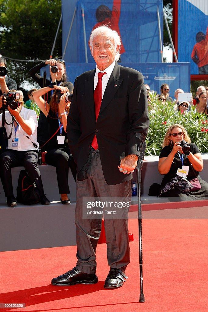 Golden Lion For Jean Paul Belmondo Followed By 'Le Voleur' Premiere - 73rd Venice Film Festival