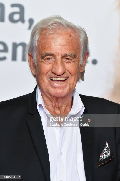 Jean Paul Belmondo attends the opening ceremony during the 10th Film Festival Lumiere on October 13 2018 in Lyon France