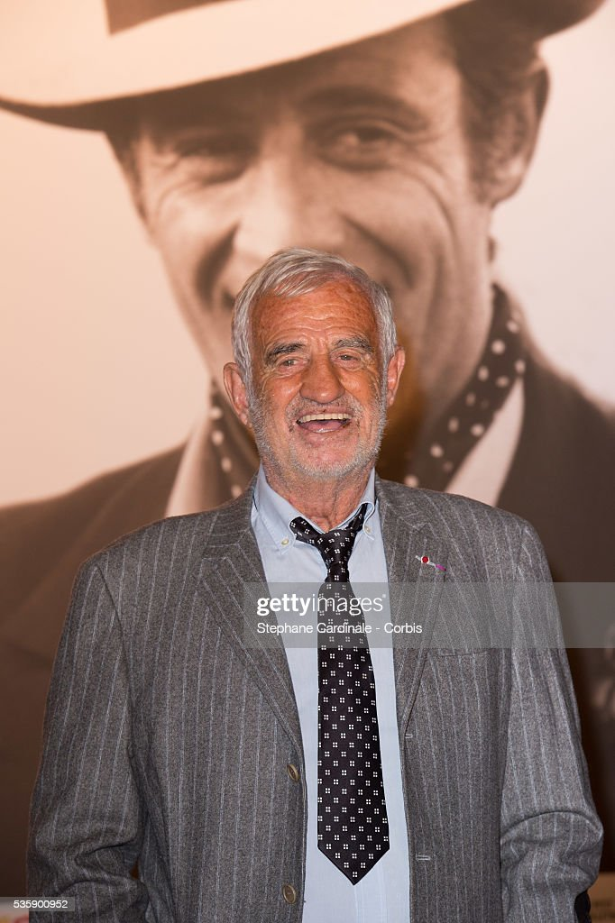 Jean Paul Belmondo attends to his Tribute and Opening Ceremony of the Fifth Lumiere Film Festival, in Lyon.