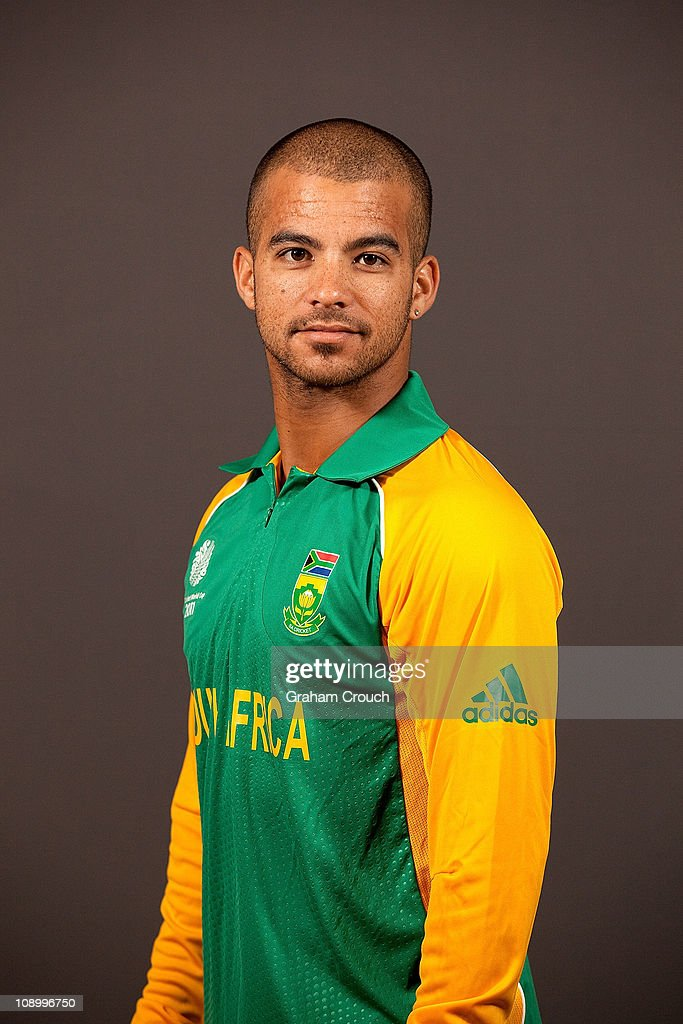 Jean Paul Duminy of South Africa poses during a portrait session ahead of the 2011 ICC World Cup at the Sheraton Hotel and Towers on February 11, 2011 in Chennai, India.