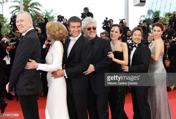 Jean Paul Gaultier actress Marisa Paredes actor Antonio Banderas director Pedro Almodovar actress Elena Anaya actor Jan Cornet and Blanca Suarez...