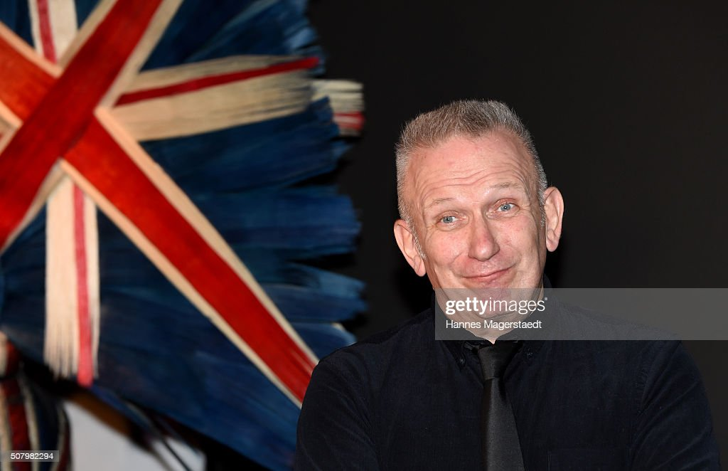Jean Paul Gaultier Hands Over Check To Munich Aids Foundation