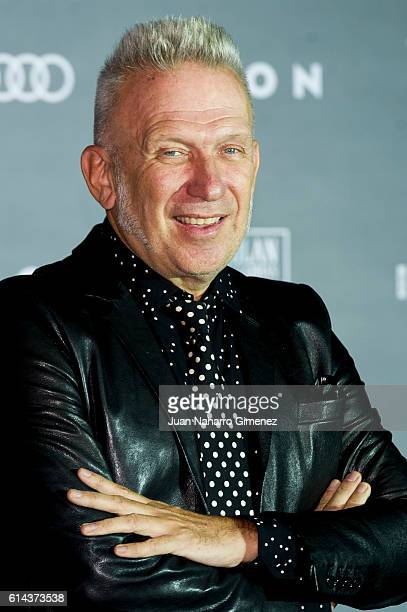 Jean Paul Gaultier attends 'ICON' awards at the French ambassador's residence on October 13 2016 in Madrid Spain