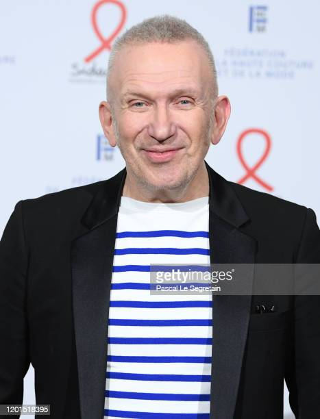 Jean Paul Gaultier attends Sidaction Gala Dinner 2020 At Pavillon Cambon on January 23 2020 in Paris France