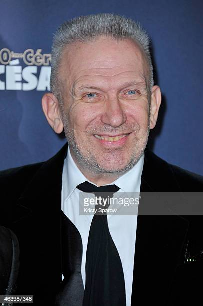 Jean Paul Gaultier attends the 40th Cesar Film Awards at Theatre du Chatelet on February 20 2015 in Paris France