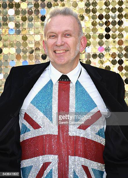 Jean Paul Gaultier attends the 'Absolutely Fabulous The Movie' World Premiere at the Odeon Leicester Square on June 29 2016 in London England