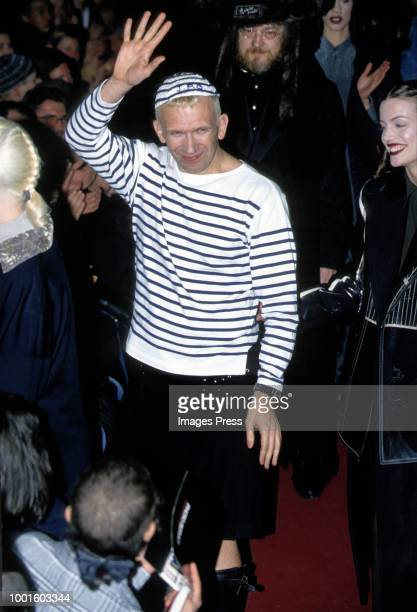 Jean Paul Gaultier during Paris Fashion Week circa 1993 in Paris