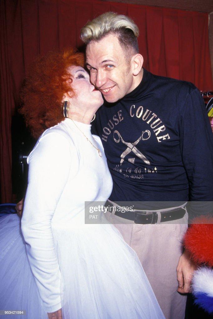 Jean Paul Gaultier et Yvette Horner au Casino de Paris : Photo d'actualité