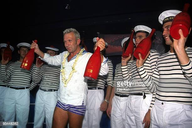 Jean Paul Gaultier, The Heidsieck Bottles of Champagne he Designed and Sailors
