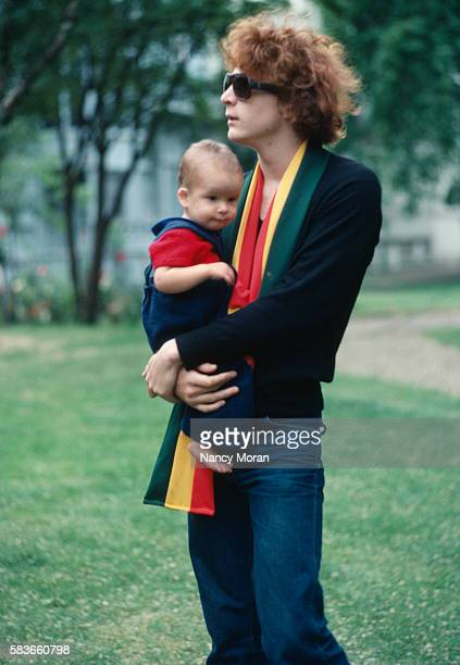 Jean Paul Getty III and Son Balthazar