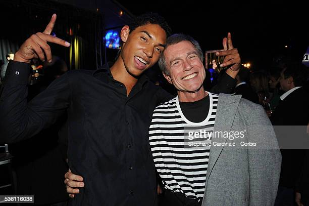 Jean Paul Goude with his son Paulo Goude attend the Opening Party of the Black Legend Club in Monaco