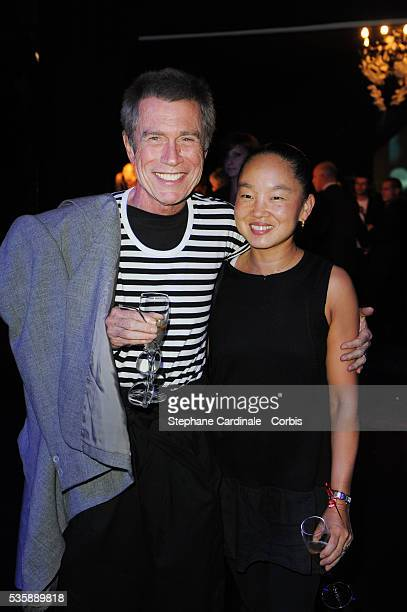 Jean Paul Goude with his Wife Karen attend the Opening Party of the Black Legend Club in Monaco