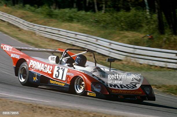 31 Jean Philippe Grand and Yves Courage Lola T298 at Le Mans 14 June 1981