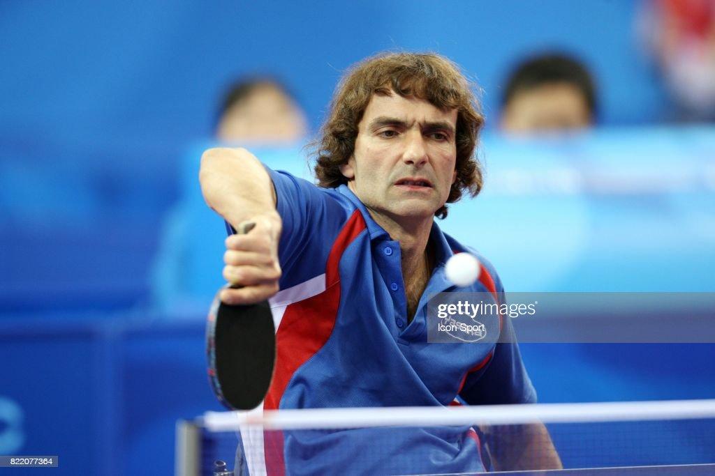 Jean Philippe Robin Tennis De Table Jeux Paralympiques De